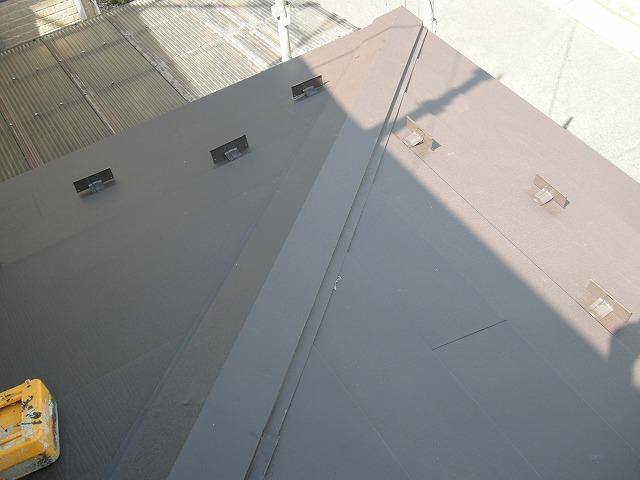 【取手市】瓦屋根から金属屋根へ葺き替え