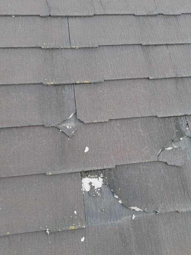 取手市でコロニアルからガルバリウム鋼板の屋根へのカバー工法