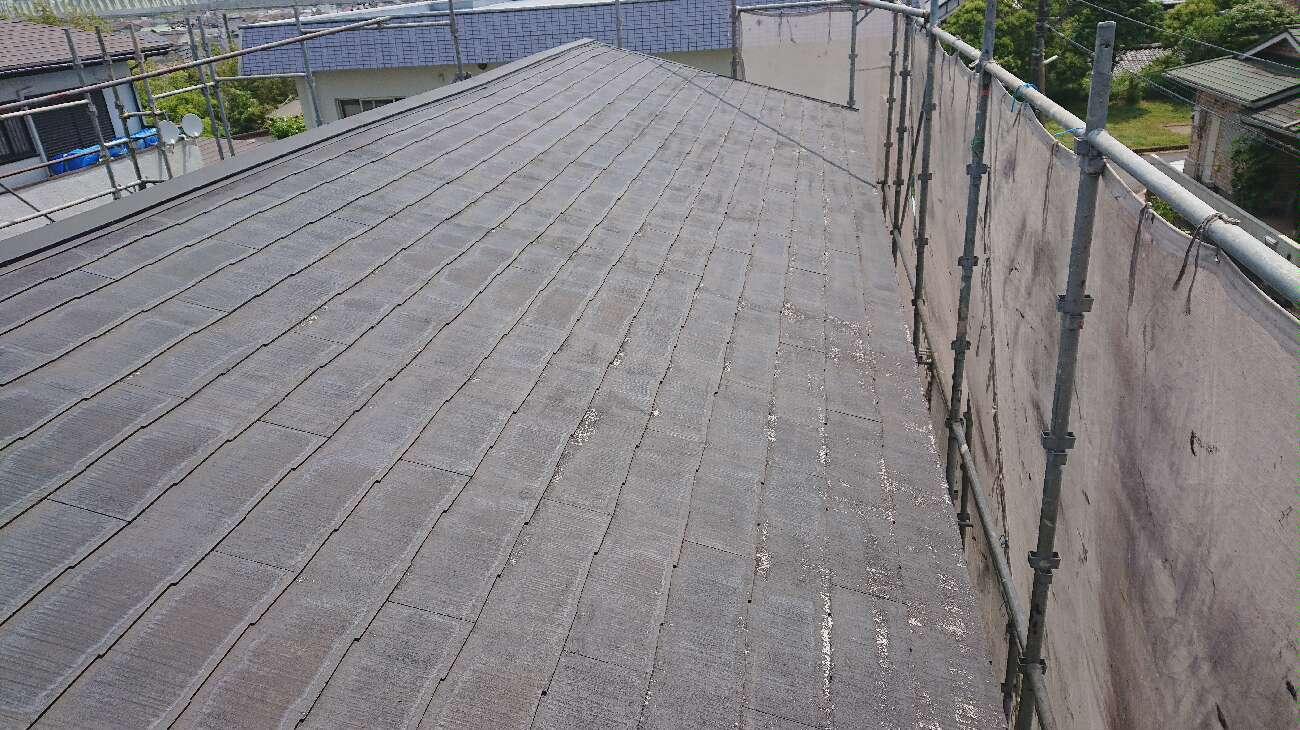 屋根写真 洗浄後