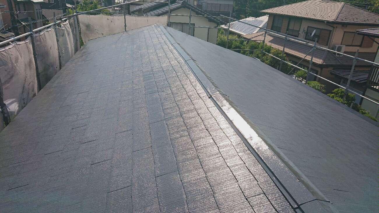 屋根塗装 仕上後