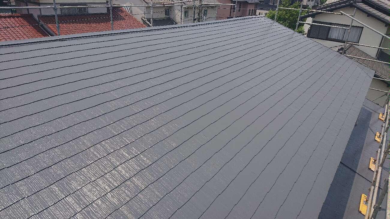 屋根の写真 完了後