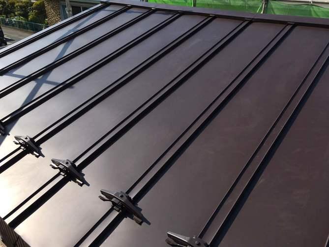 ガルバリウム鋼板の瓦棒