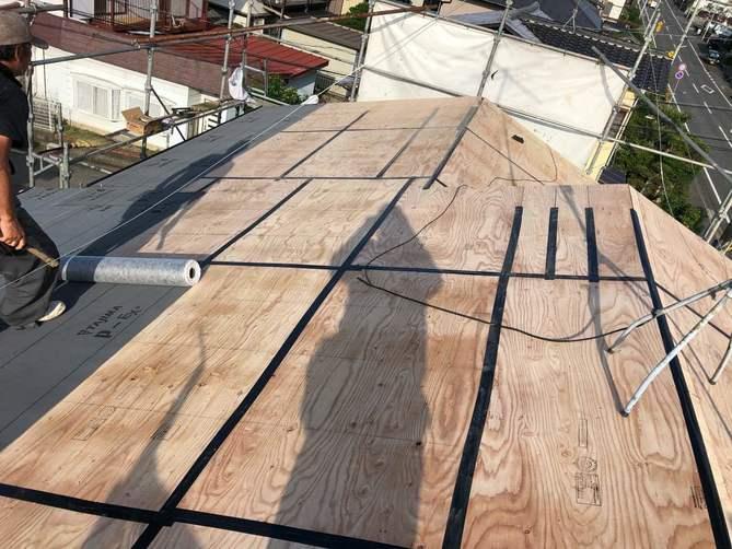 屋根の防水テープ