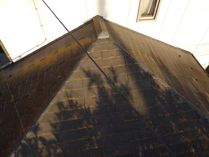 下屋根のコロニアル