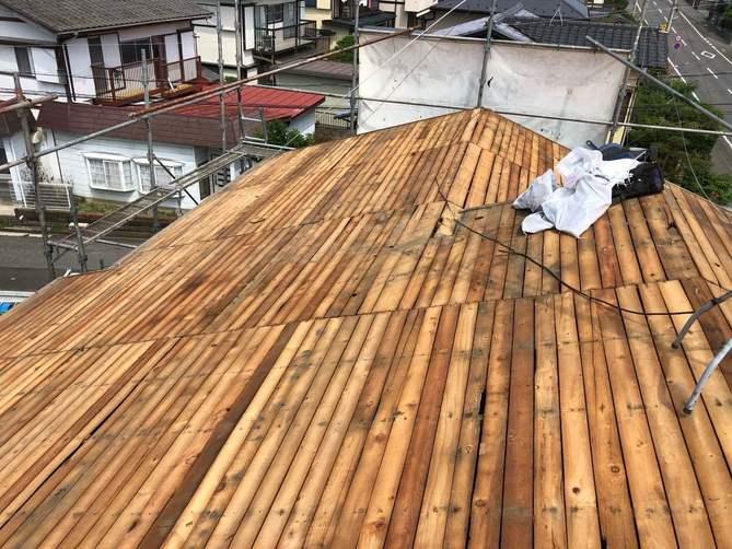 屋根下地材
