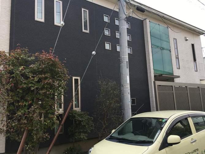 取手で外壁屋根塗装工事の現場調査をドローンを使って実施